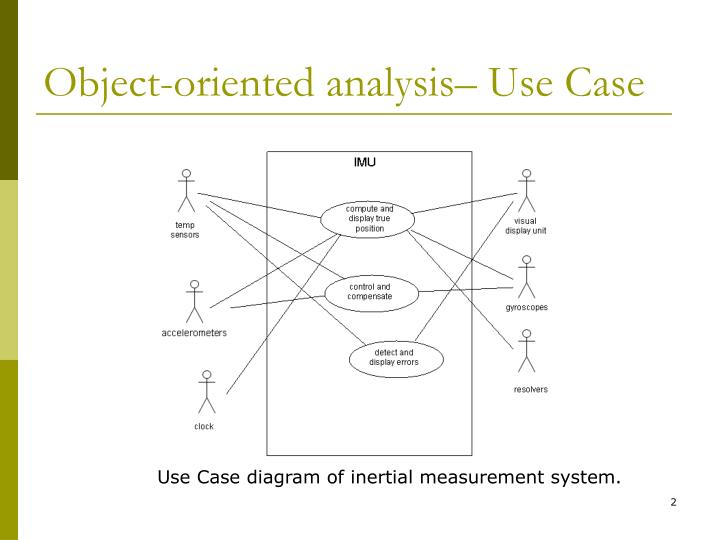 Object oriented analysis use case l.jpg