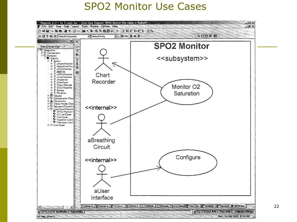 SPO2 Monitor Use Cases