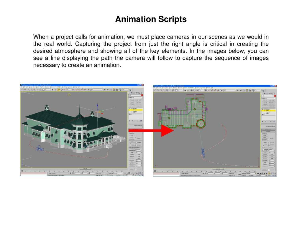 Animation Scripts