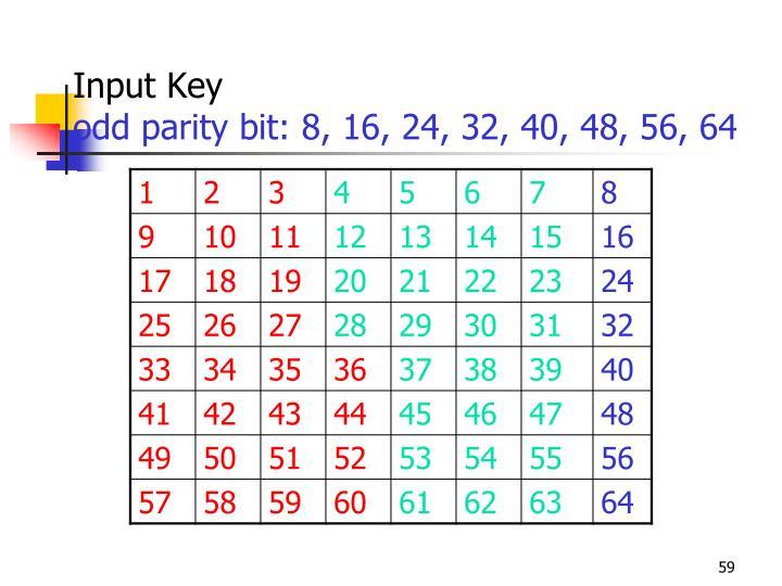 Input Key