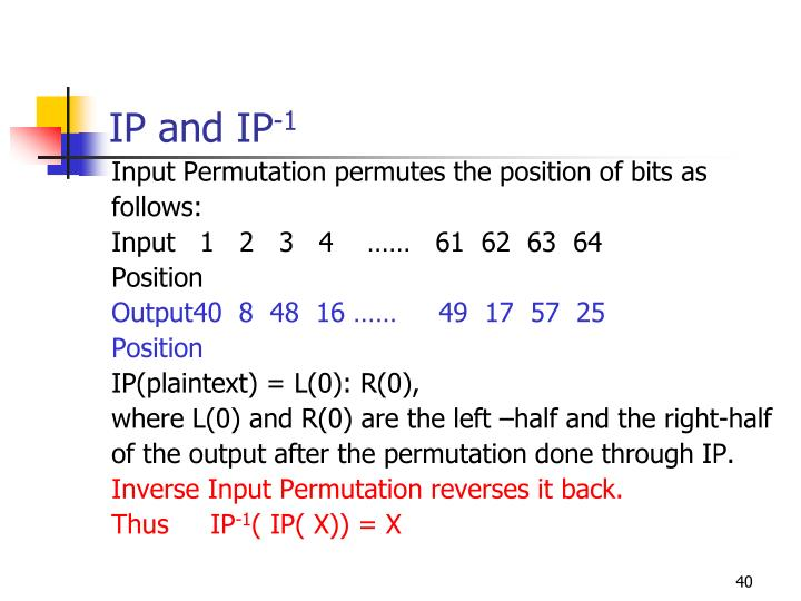 IP and IP