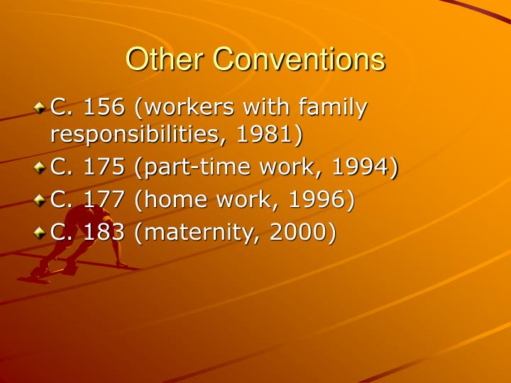 Other Conventions