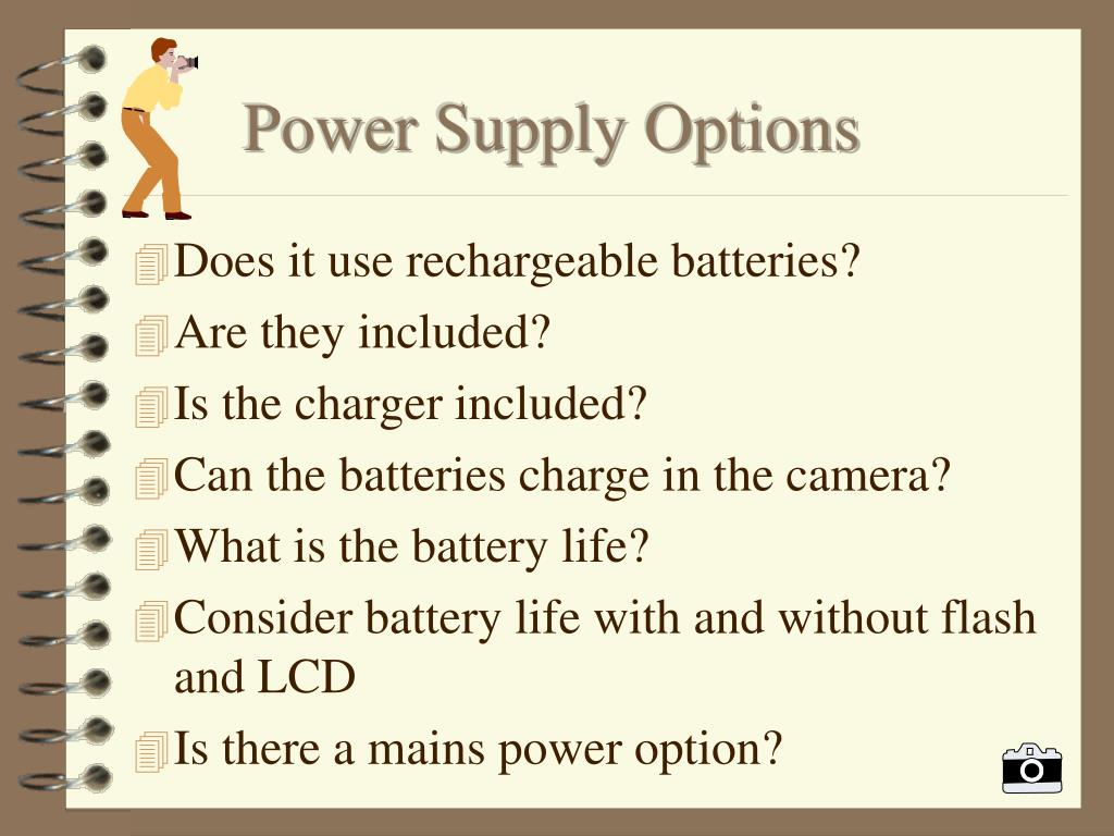 Power Supply Options