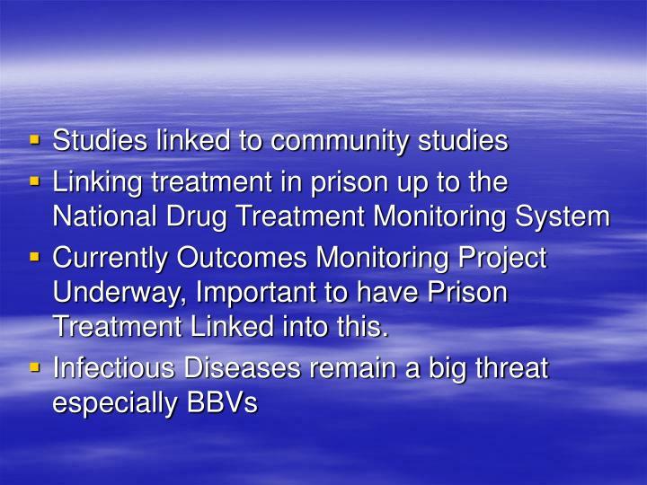 Studies linked to community studies