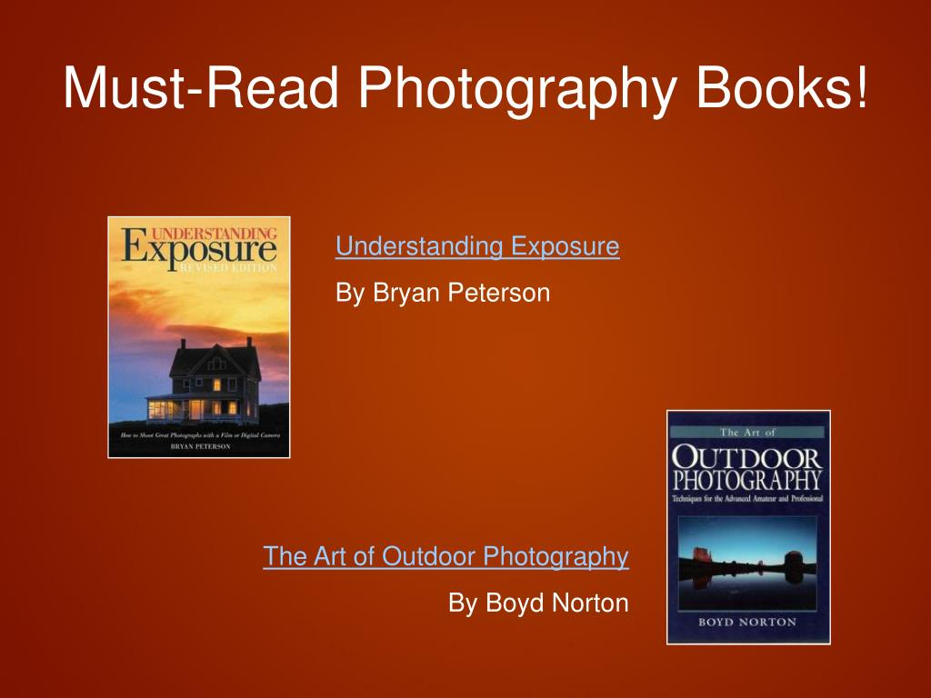 Must-Read Photography Books!