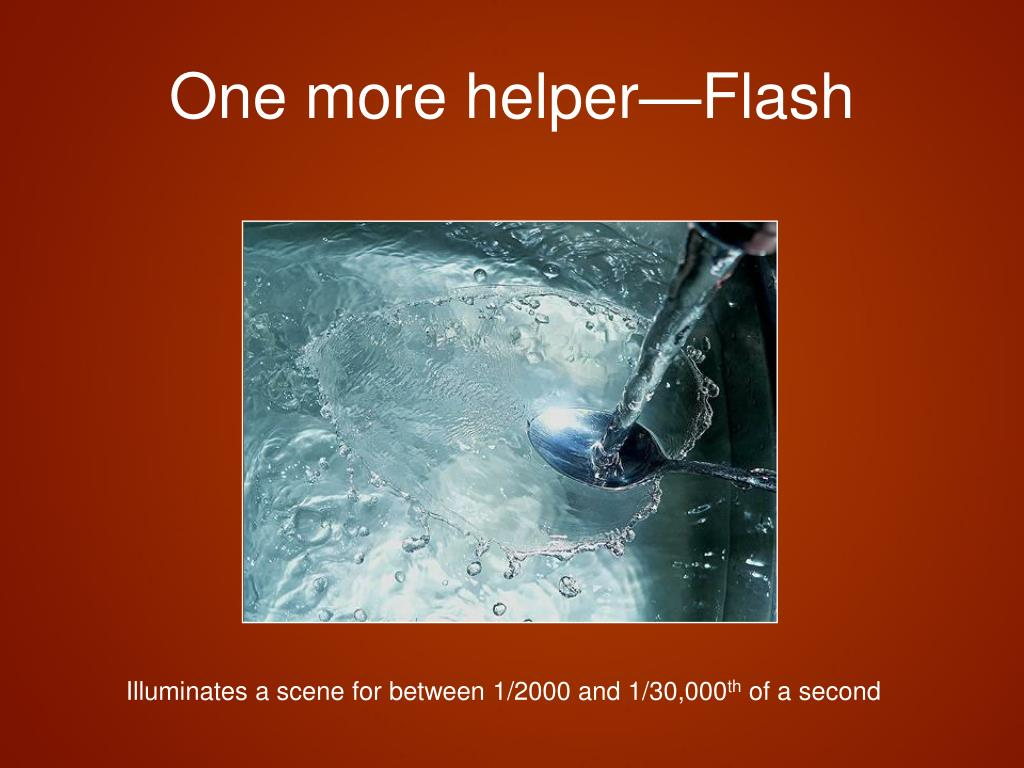 One more helper—Flash