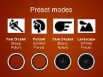 preset modes