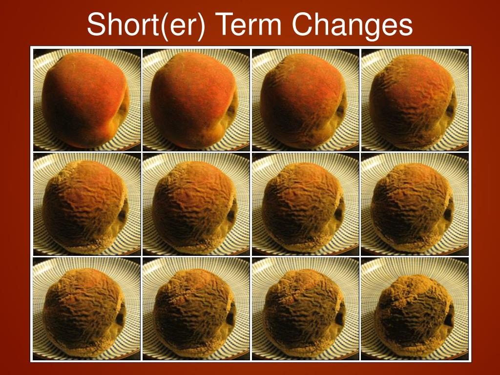 Short(er) Term Changes