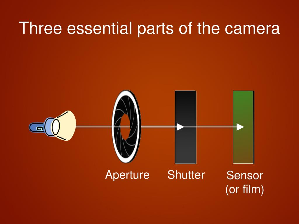 Three essential parts of the camera