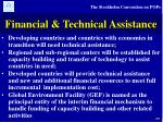 financial technical assistance