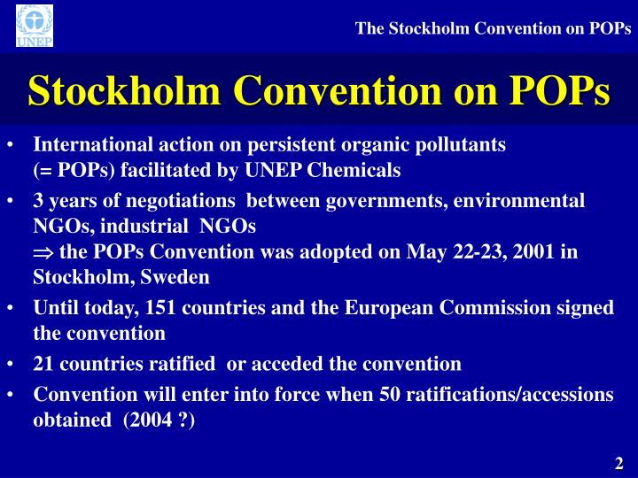 Stockholm Convention on POPs