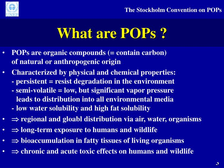 What are POPs ?
