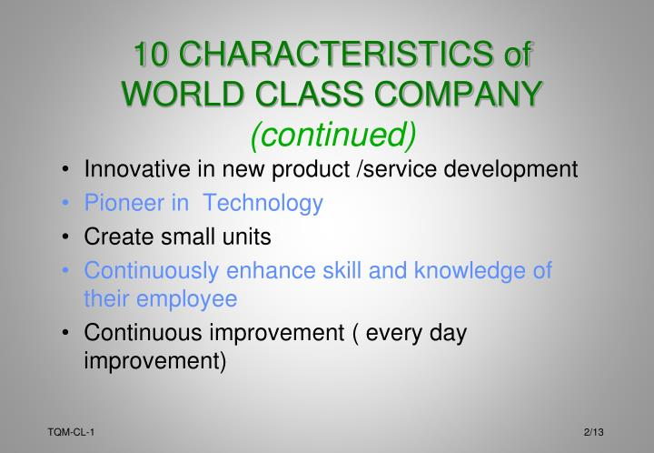 Innovative in new product /service development