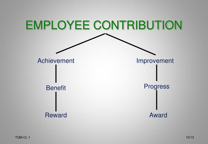 EMPLOYEE CONTRIBUTION