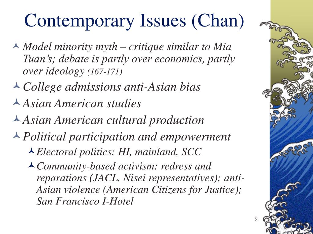 Contemporary Issues (Chan)