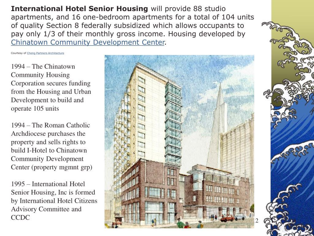 International Hotel Senior Housing
