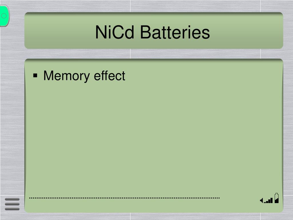 NiCd Batteries