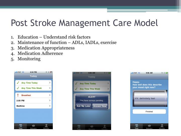 Post Stroke Management Care Model