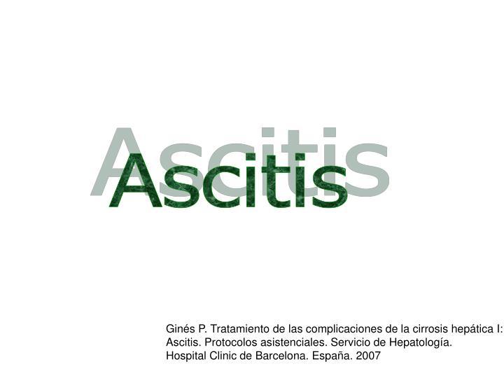 Ascitis