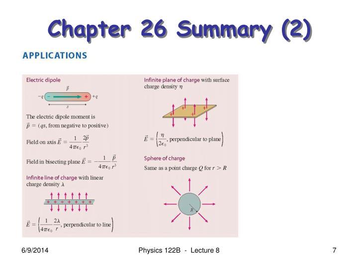 Chapter 26 Summary (2)
