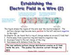 establishing the electric field in a wire 2