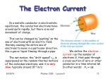 the electron current1