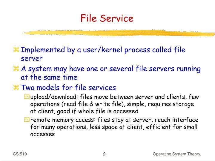 File Service