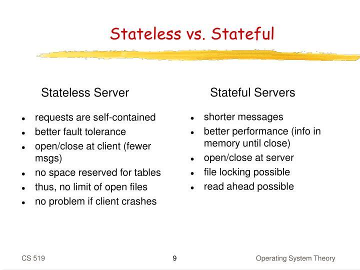 Stateful Servers