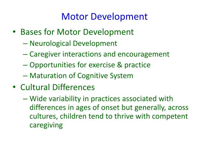 Ppt Physical Development In Toddlers And Infants