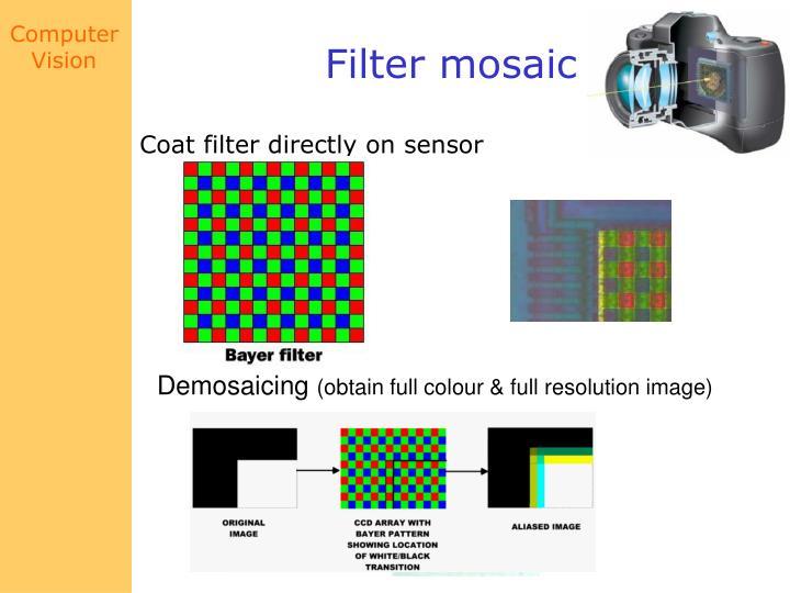 Filter mosaic