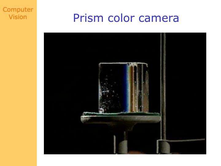 Prism color camera