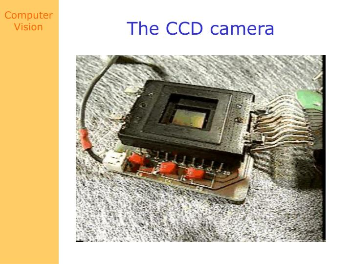 The CCD camera