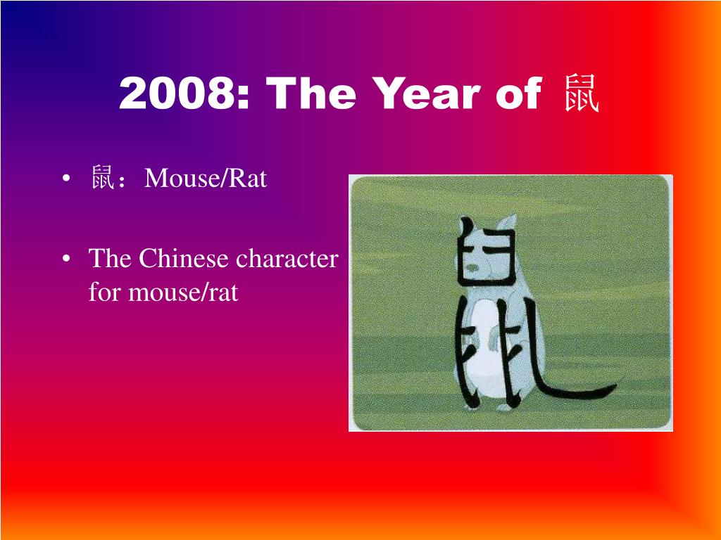 2008: The Year of