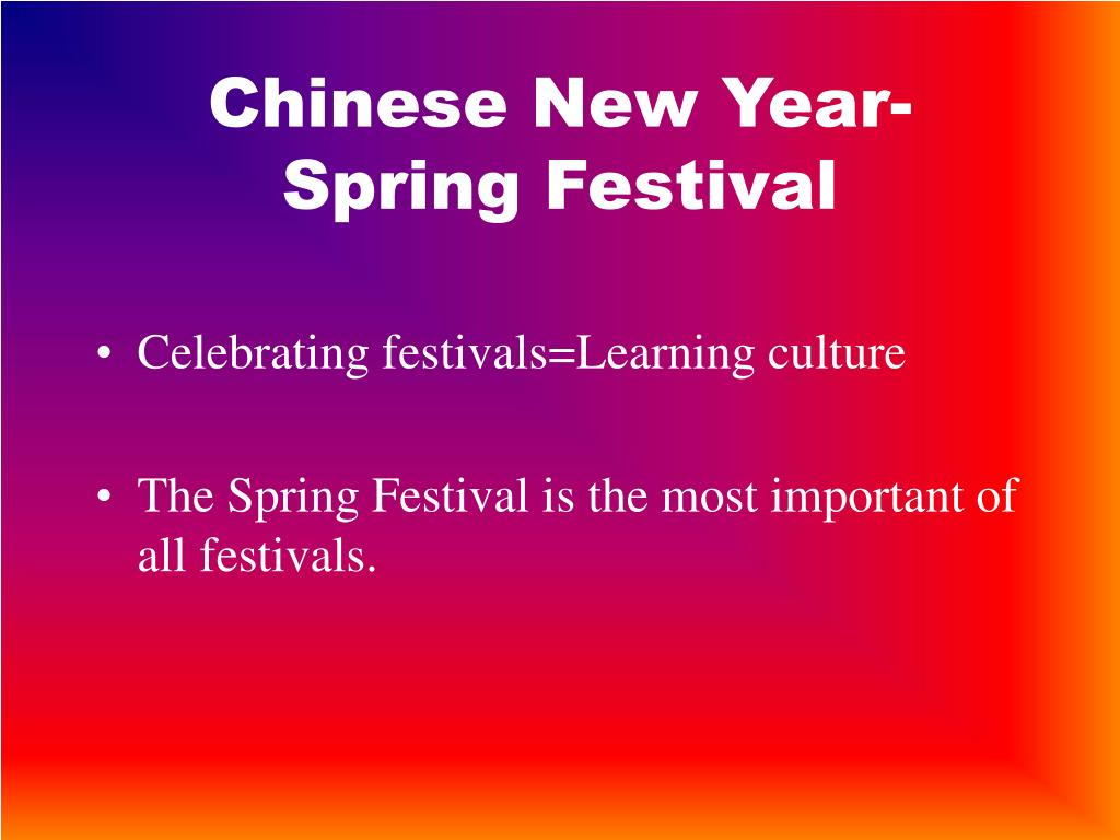 Chinese New Year-Spring Festival