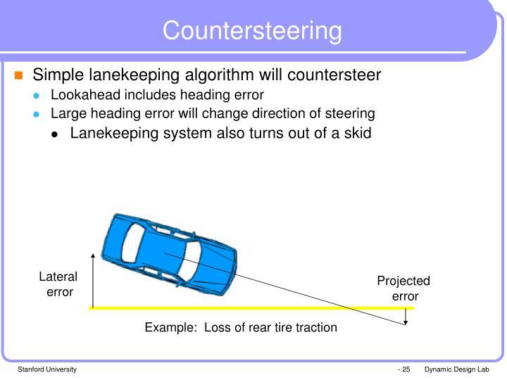Countersteering