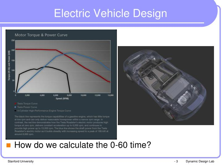 Electric vehicle design