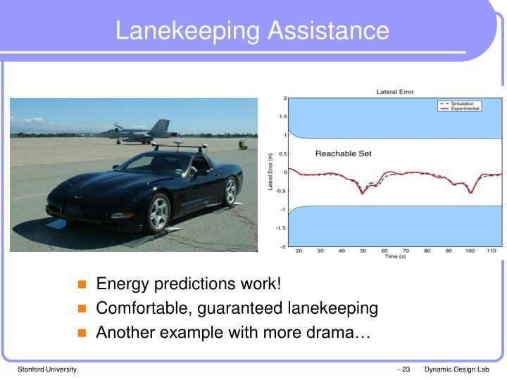 Lanekeeping Assistance