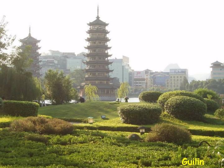 Guilin pagodes