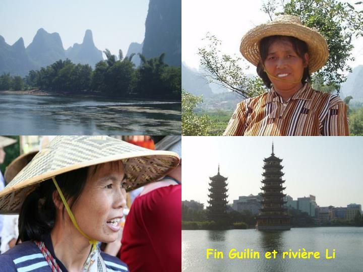 Fin Guilin et rivière Li