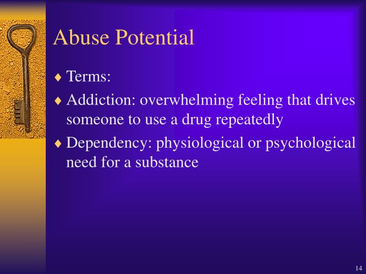 Abuse Potential