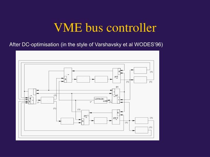 VME bus controller