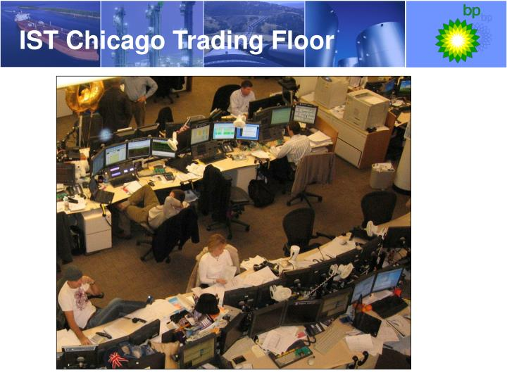 IST Chicago Trading Floor