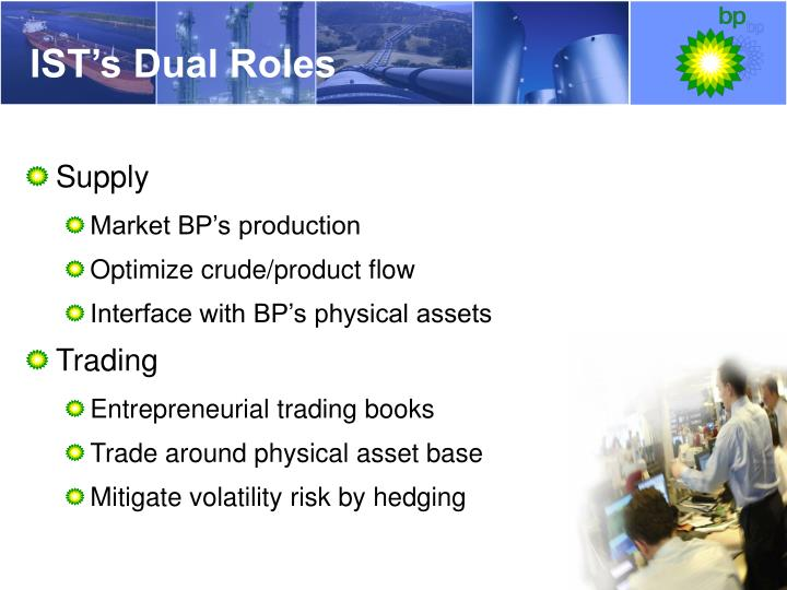 IST's Dual Roles