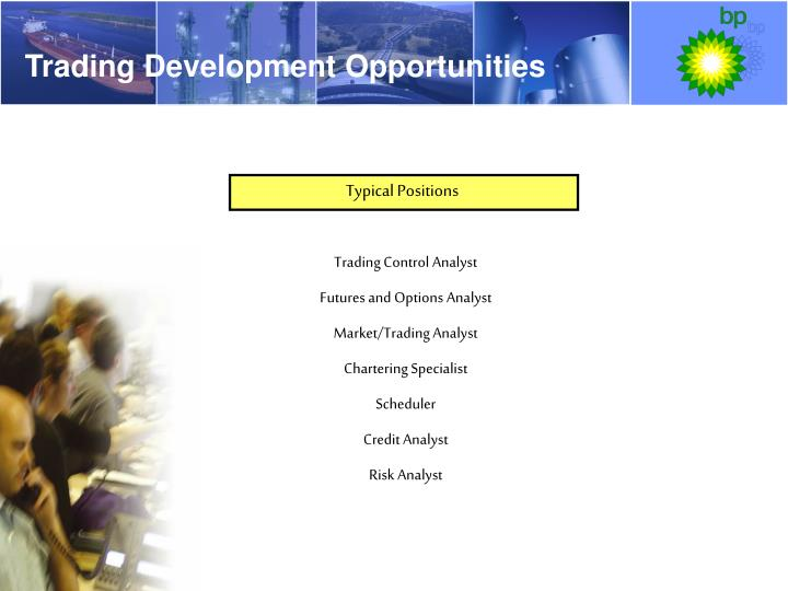 Trading Development Opportunities