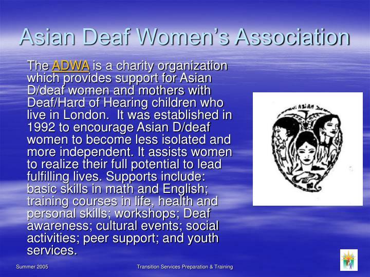 Asian Deaf Women's Association