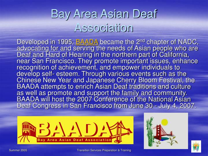 Bay Area Asian Deaf