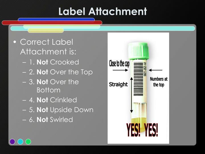 Label Attachment