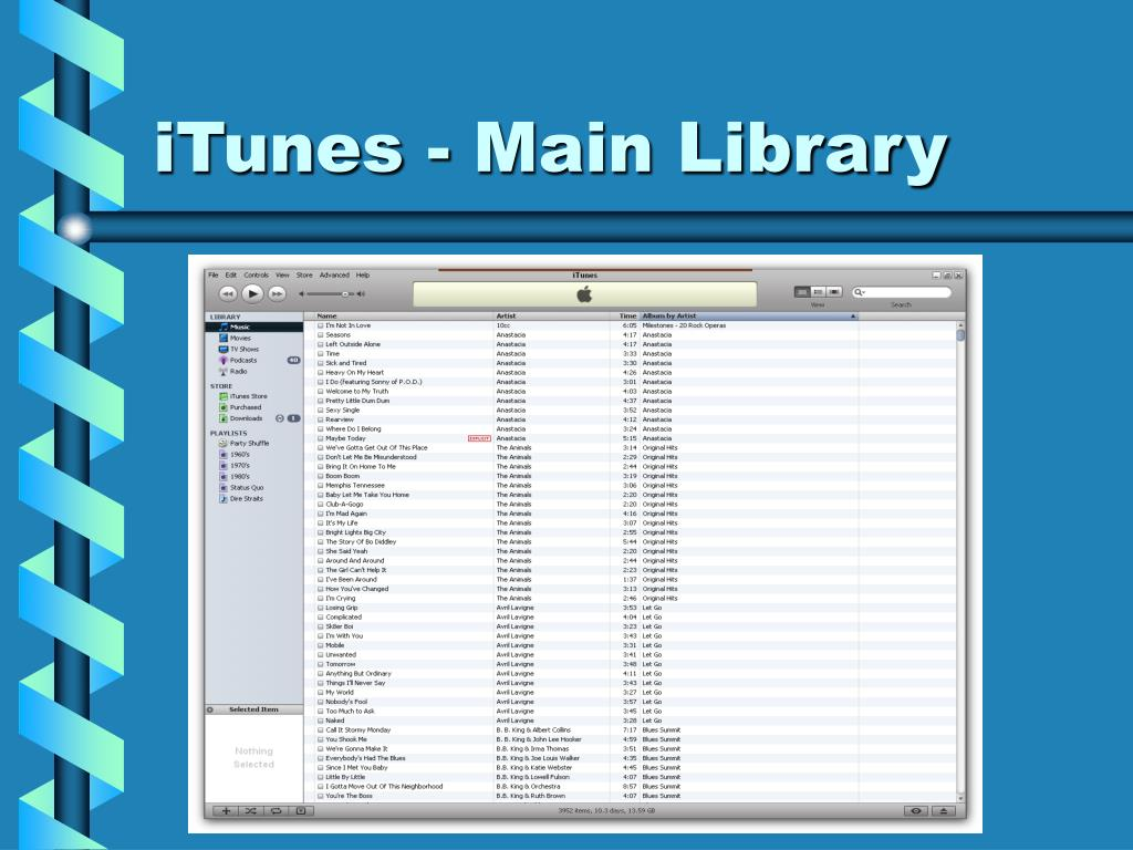 iTunes - Main Library