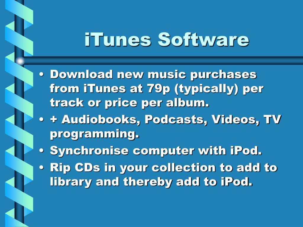 iTunes Software