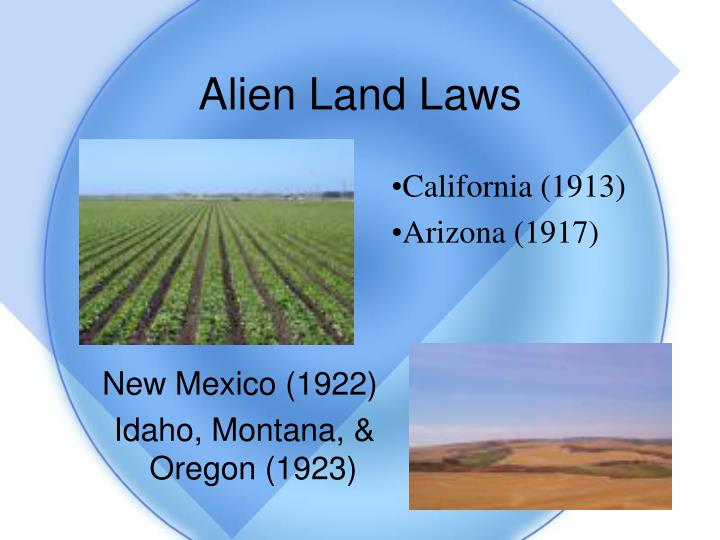 Alien Land Laws